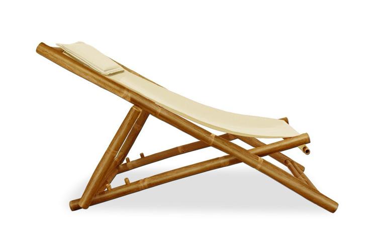 Deuba chaise longue en bambou avis